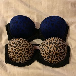 Victoria's Secret PINK Strapless Push-Up Bras-32B